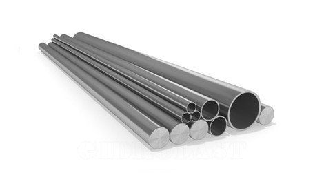 Hydraulic tubes and rods
