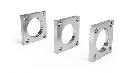 Front bushing flanges